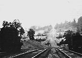 Looking up the EHLR incline with EHLR 0-6-0 No 1 standing on the left of the photograph on 28th May 1935