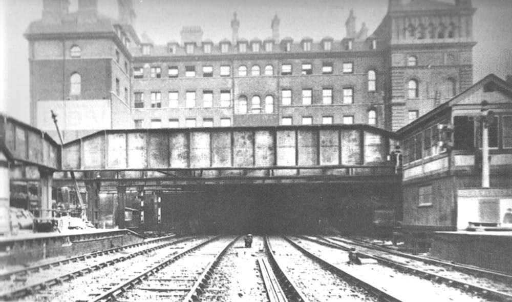 Birmingham Snow Hill Station The Steel Girders Which