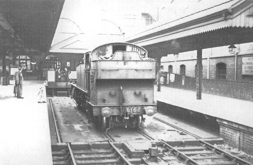 Moor Street Station Ex Gwr 2 6 2t Prairie No 6152 Is