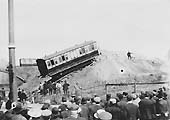 Fifth of ten photos showing the recovery of the derailed LNWR coaches in Bloomfield Road, Coventry