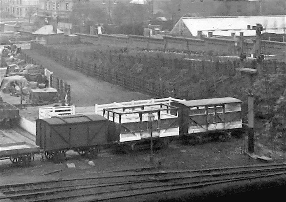 Coventry Station Close Up Showing The Cattle Docks A Van