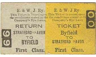 British Transport Commission Birmingham Snow Hill (E) Platform Ticket Cost 1d