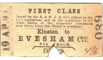 British Transport Commission Birmingham Snow Hill (D) Platform Ticket Cost 2d