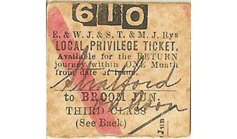British Transport Commission Birmingham Snow Hill (D) Platform Ticket Cost 1d