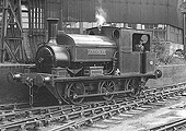 Manning Wardle 0-6-0 Works No 2015 'Abernant' is seen at Austin Motors factory in Longbridge on 19th July 1950