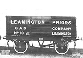 Leamington Priors Gas Company No 10 the first of five further wagons built by the GRC&W